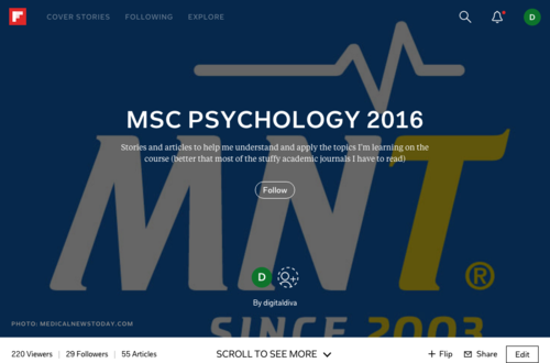 MSc Psychology 2016 on Flipboard